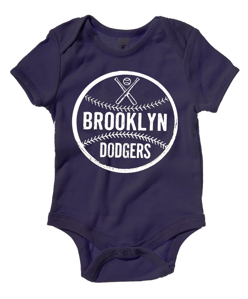 Image of Brooklyn Dodger Baseball Onesie