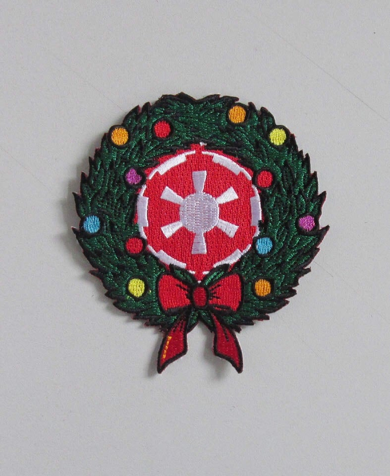 """Image of Imperial Wreath 3.5"""" Patch INSTOCK"""