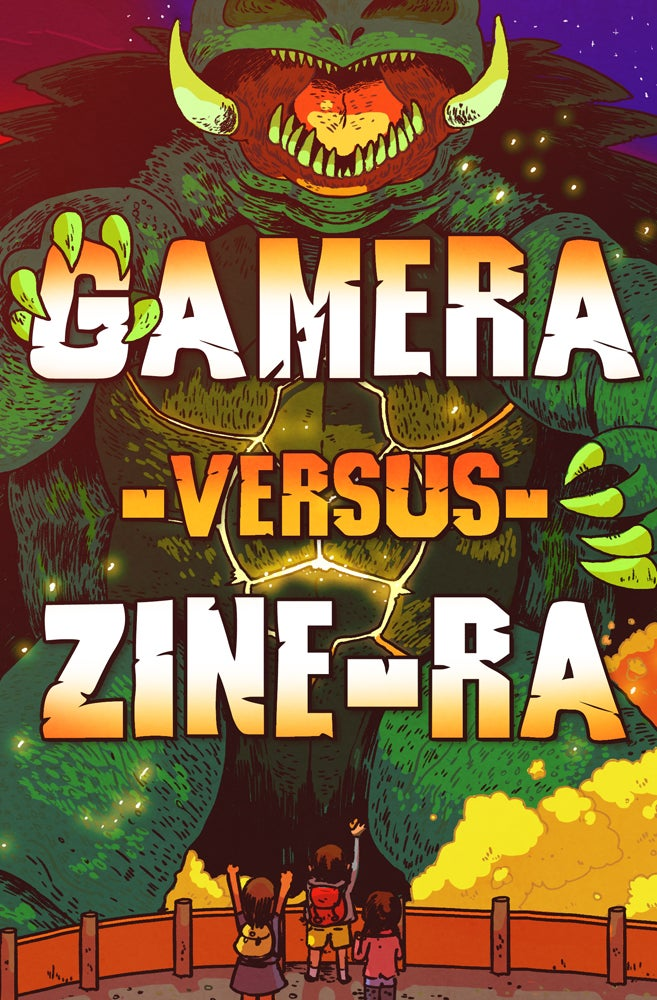 Image of Gamera vs Zine-Ra