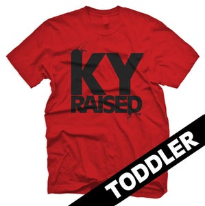 Image of KY Raised Toddler in Red & Black