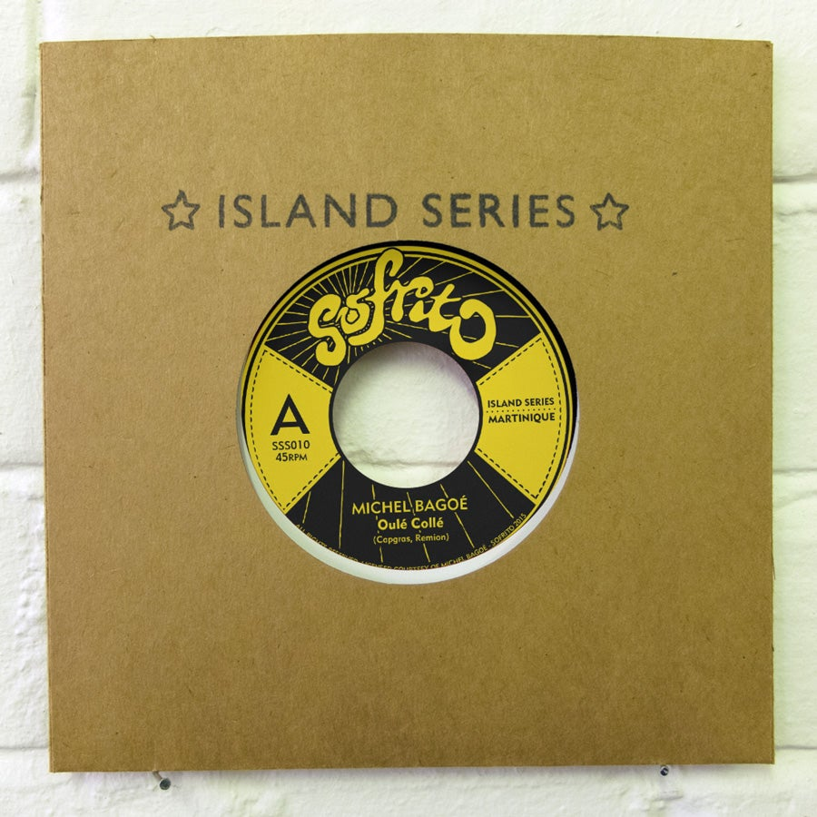 "Image of Island Series // Martinique 7"" // Black cover"