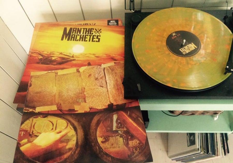 Image of Man The Machetes - Av Nag Yellow LP (2015)
