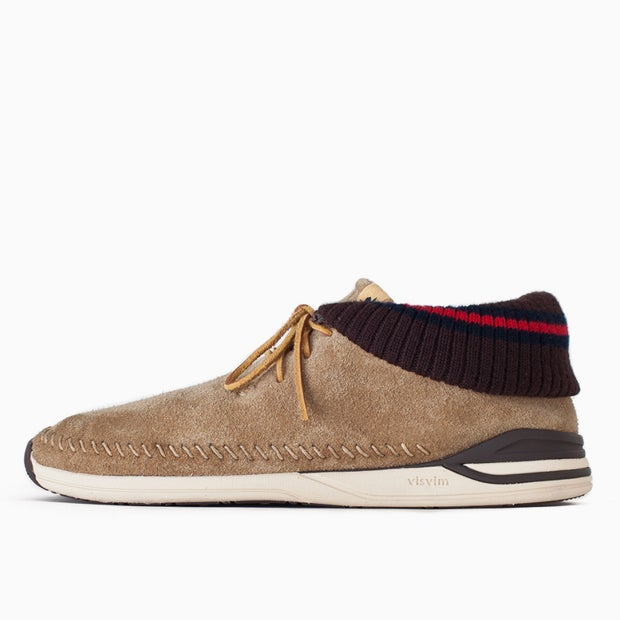 Image of visvim MALISEET-FOLK - BEIGE