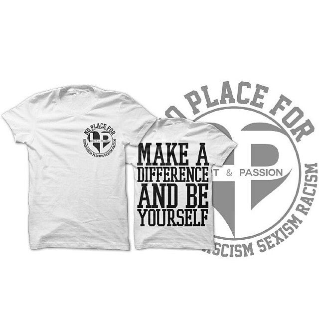 """Image of H&P - """"Make A Difference"""" SHIRT"""