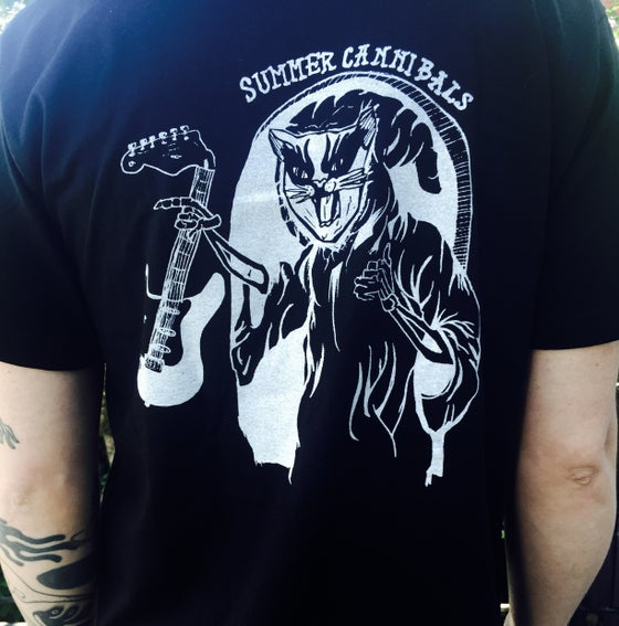 Image of Summer Cannibals CAT REAPER Tee - Black