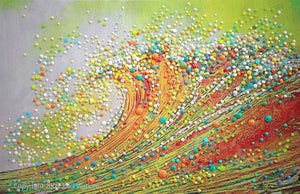 Image of The Golden Wave - Let go and transform.
