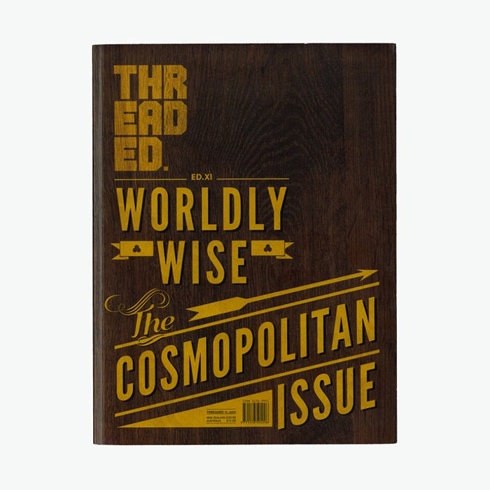 Image of Threaded Ed.11 'Worldy Wise, The Cosmopolitan Issue'