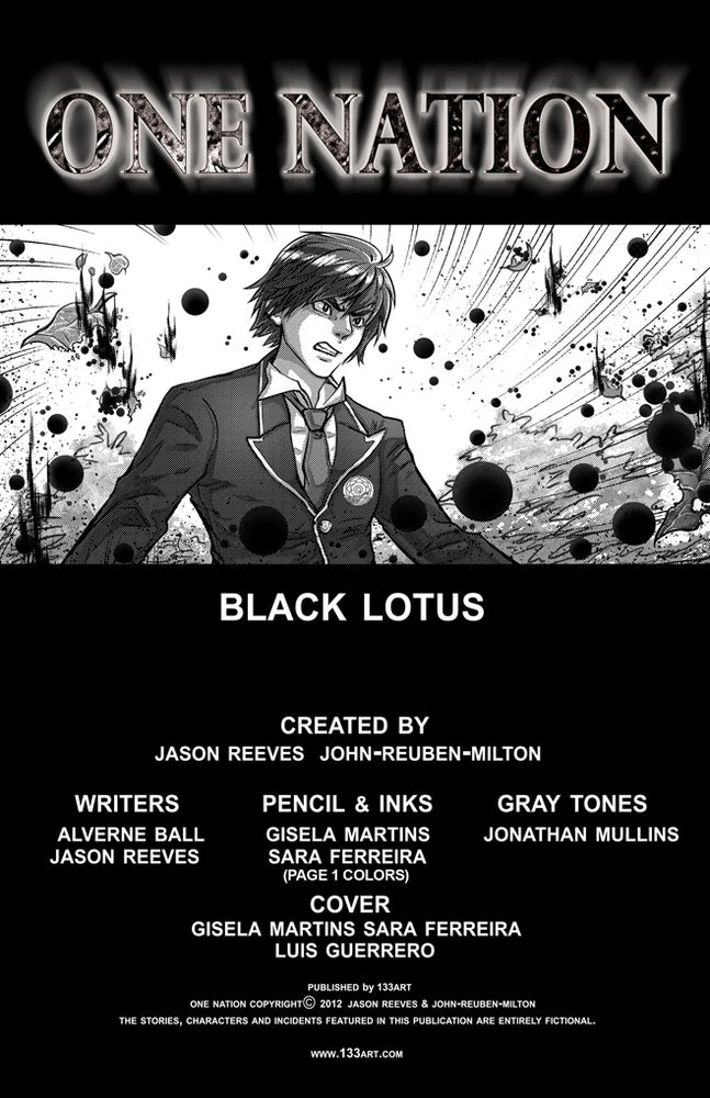 Image of OneNation: Black Lotus [digital comic]