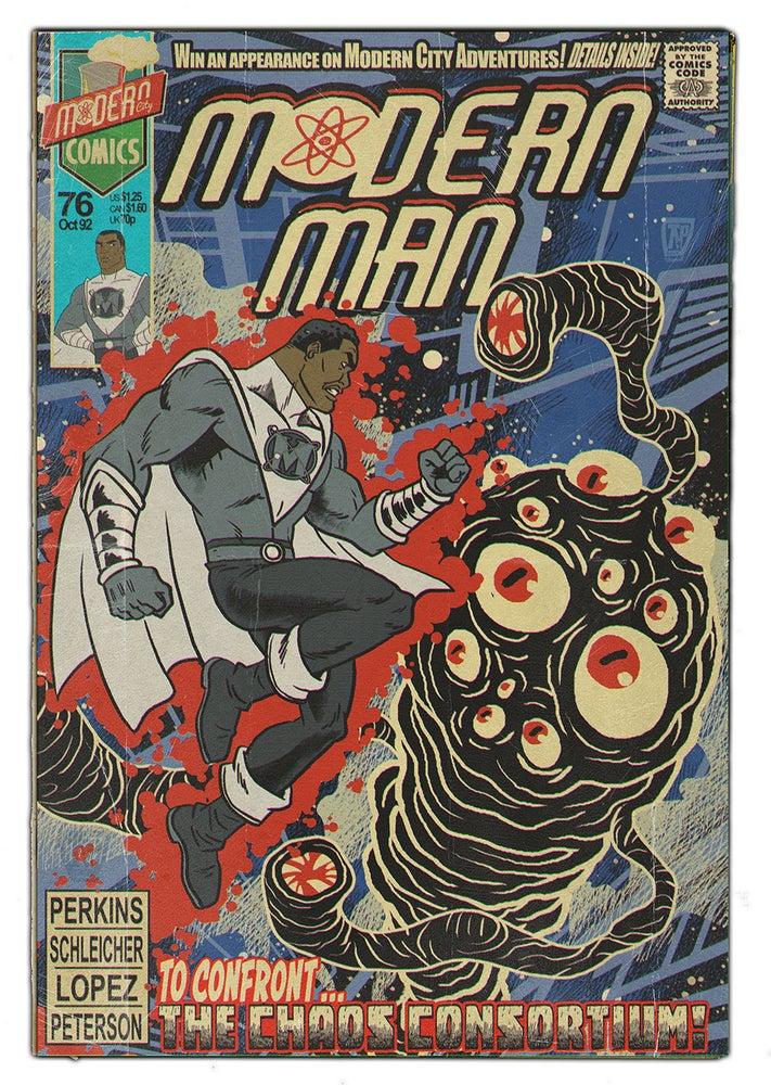 Image of Modern Man 76: Modern City Poster