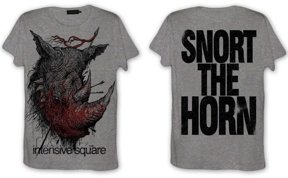 Image of 'Snort the Horn' T-Shirt