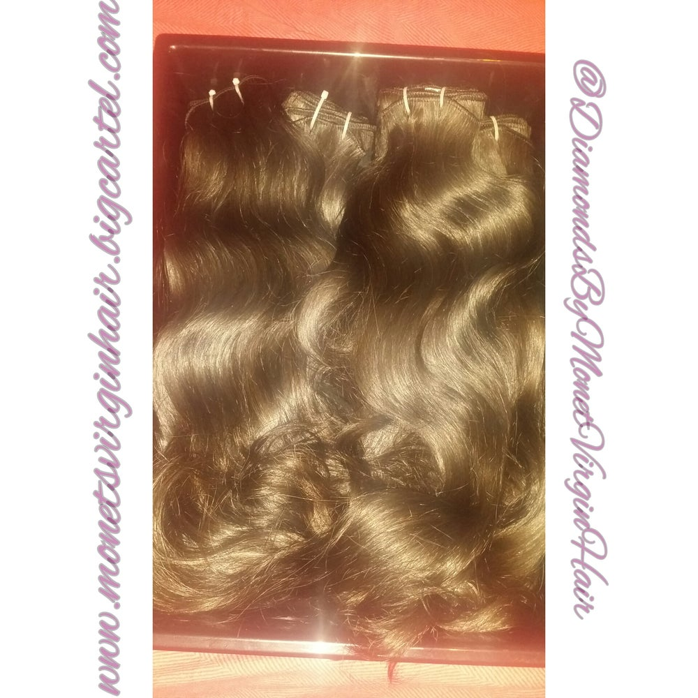Image of Raw Indian Natural Wave