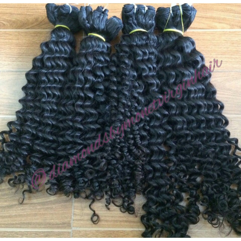 Image of Raw Indian Tight Curly
