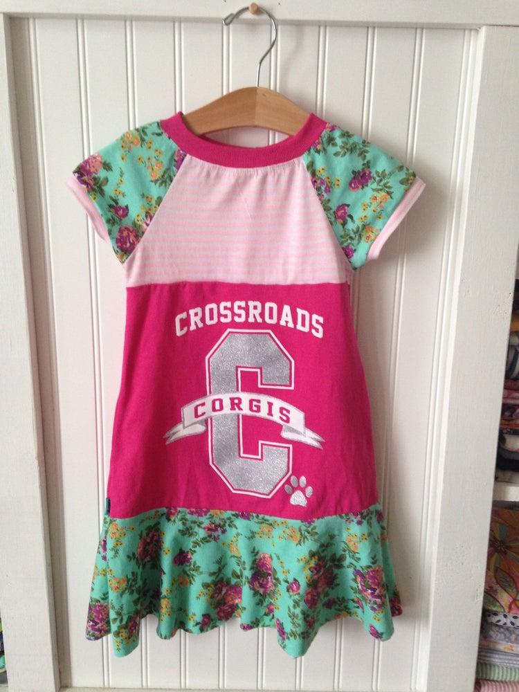 Image of Custom T-shirt Raglan Dress