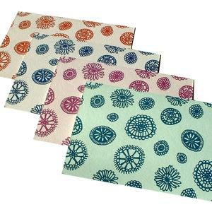 Image of anemone . . . petite notecard set