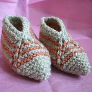Image of Woollen booties