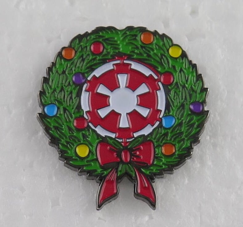 "Image of Imperial Wreath Lapel Pin 1"" - INSTOCK"