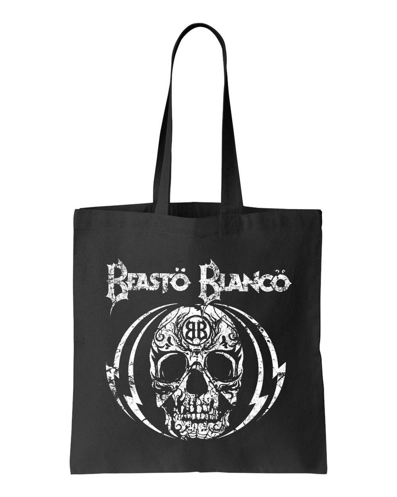 "Image of BEASTO BLANCO - 2015 - ""SKULL"" LOGO BLACK BAG"