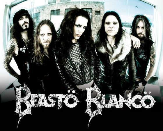 Image of BEASTO BLANCO - 2015 - SIGNED PROMO 8X10 PHOTO