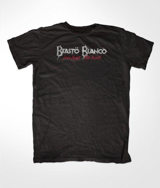 "Image of BEASTO BLANCO - 2015 - ""LIVE FAST, DIE LOUD"" LOGO SHIRT"