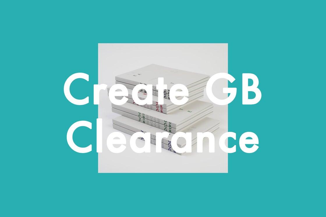 Image of Create GB Volume 1