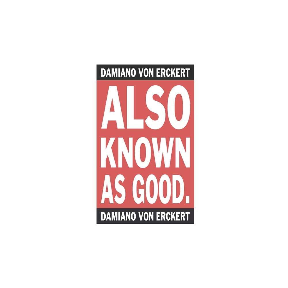 Image of Damiano Von Erckert - Also Known As Good - 2LP (AVA)