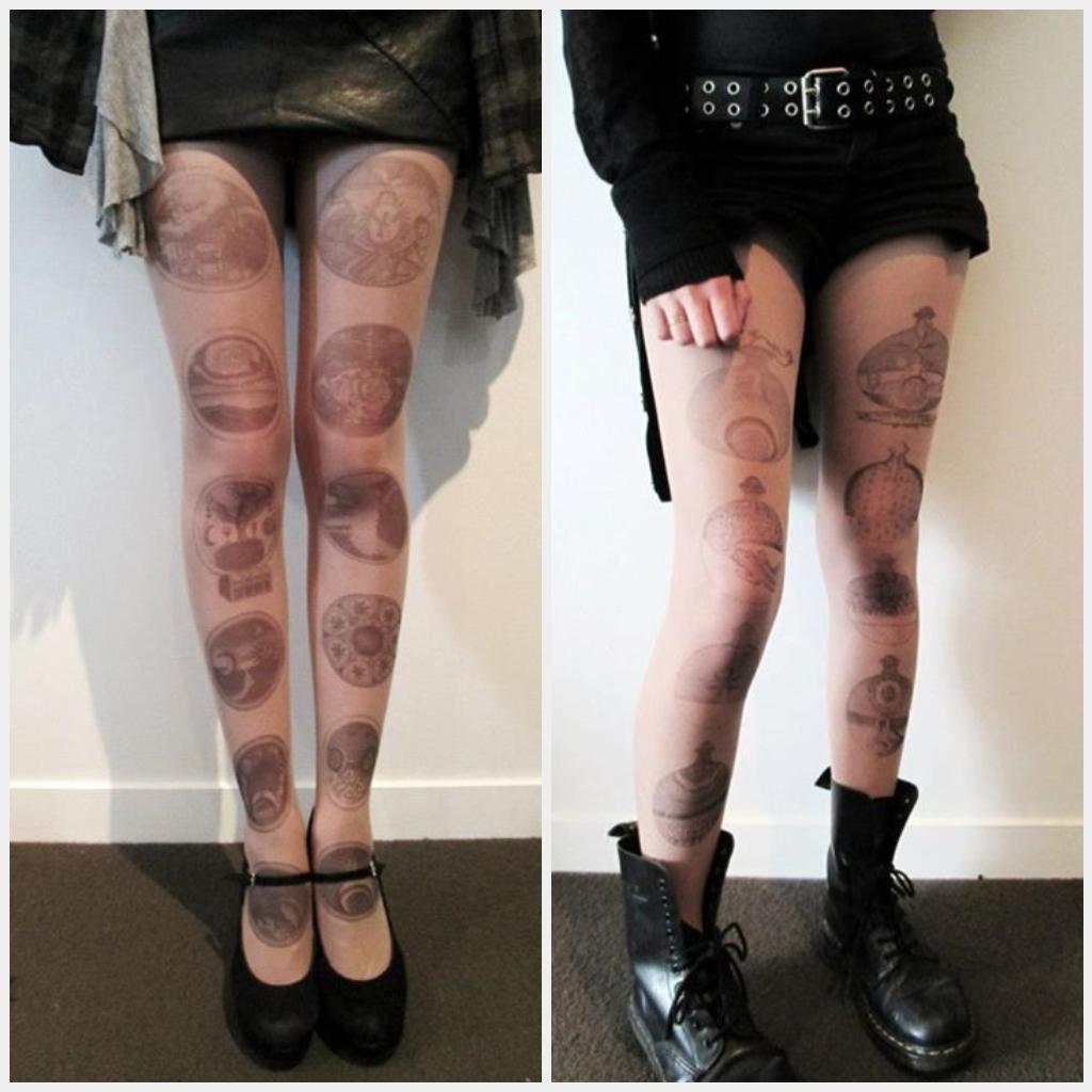 Image of Barchusen's Journey Set - Tattoo tights.
