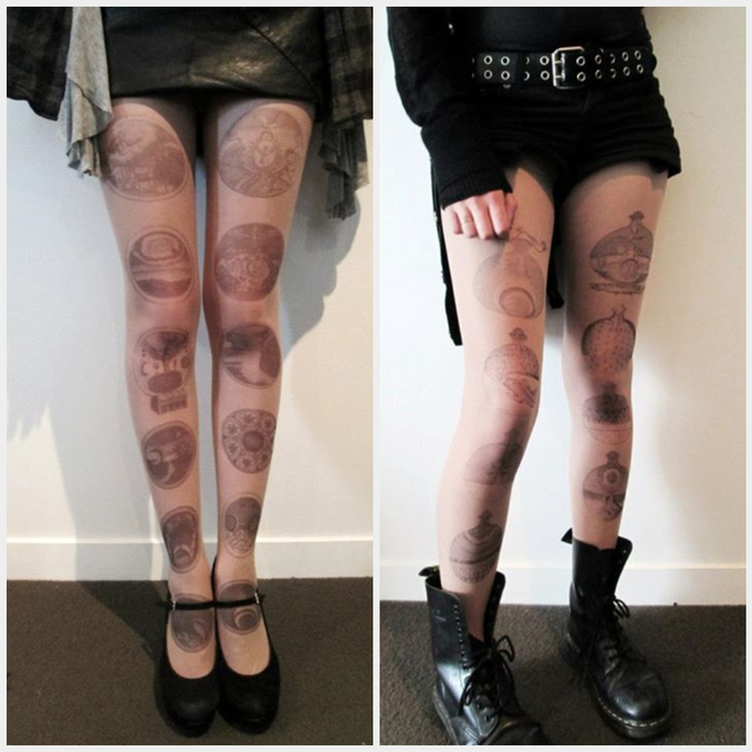 Image of Barchusen's Journey Set - Tattoo tights.