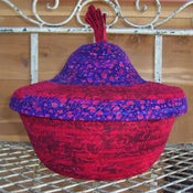 Image of  Basket with Lid - Large