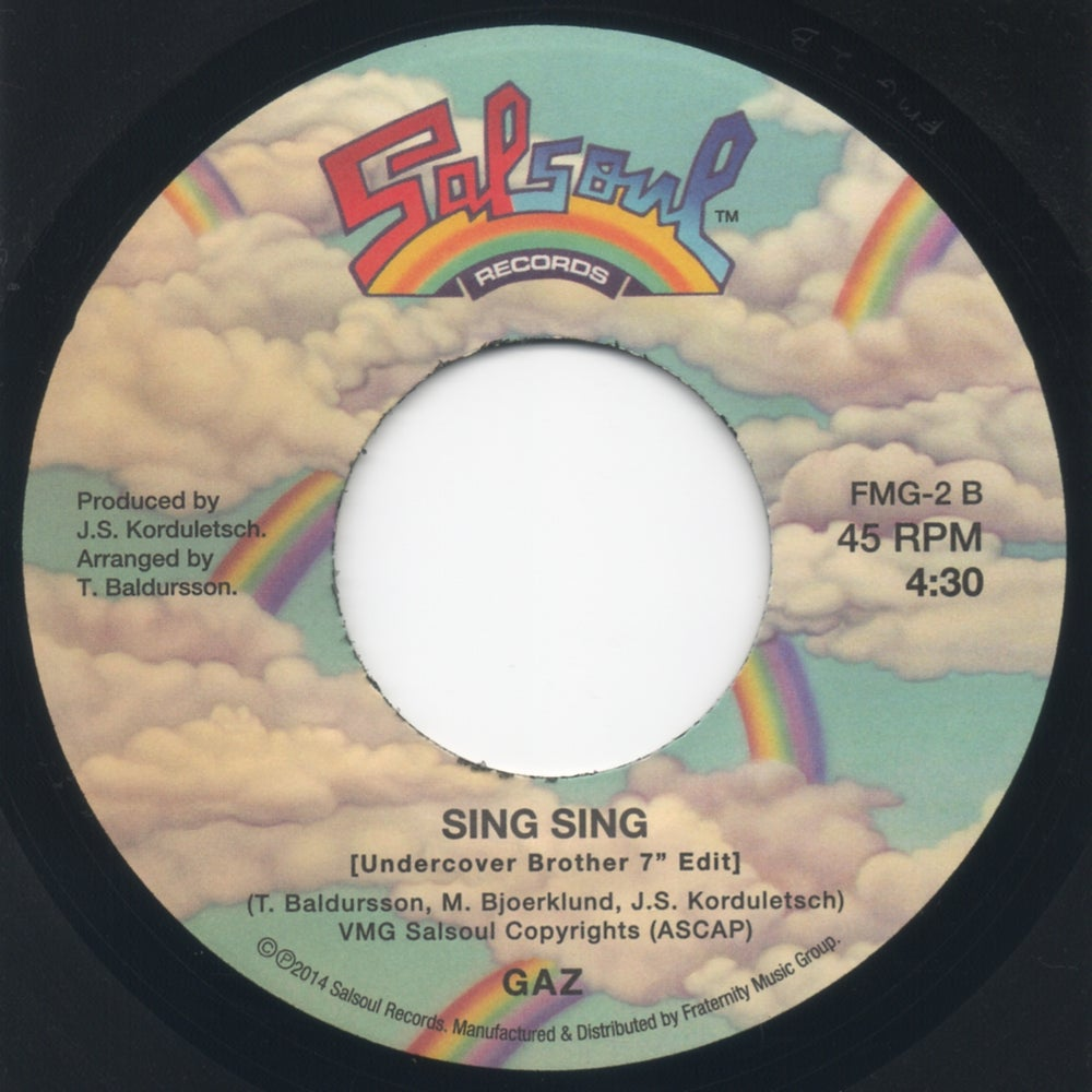 """Image of The Funk Is On / Sing Sing (Undercover Brother 7"""" Edit) - 7"""" Vinyl"""