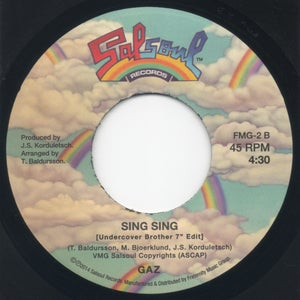 "Image of The Funk Is On / Sing Sing (Undercover Brother 7"" Edit) - 7"" Vinyl"