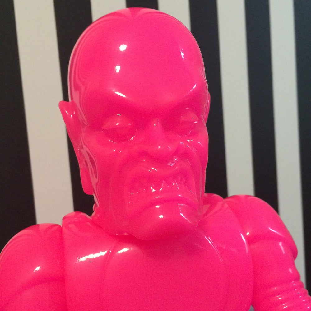 "Image of The Iron Monster ""Pretty in Pink Edition"""