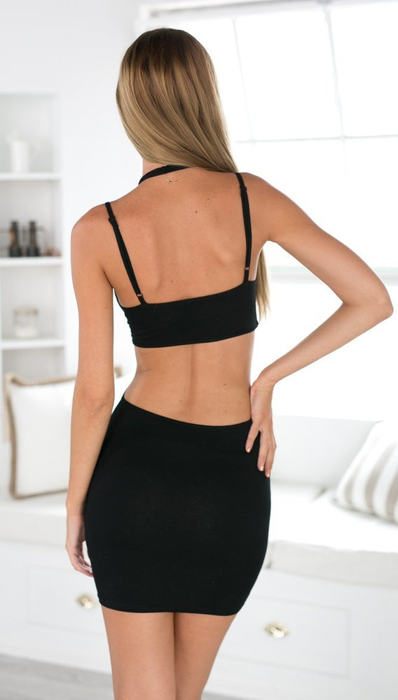 Image of HOT CUTE FASHION SHOW BODY SEXY DRESS