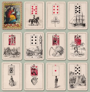 Image of Madam Morrow's Fortune Telling Cards c.1886