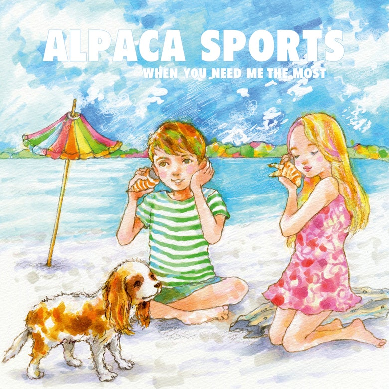 """Image of ALPACA SPORTS - When You Need Me The Most (Ltd Edition blue 10"""" vinyl w/free MP3s)"""