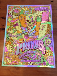 Image of Primus & The Chocolate Factory FULL Color Foil Variant