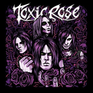 "Image of ToxicRose - S/T 12"" Purple Vinyl"