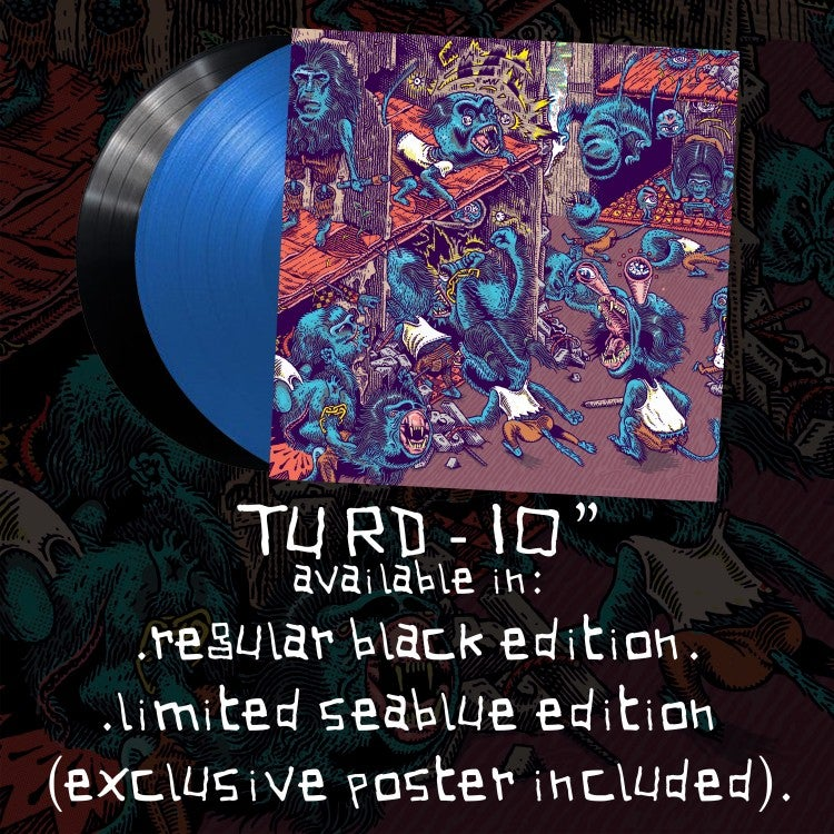 "Image of TURD 10"" VINYL"