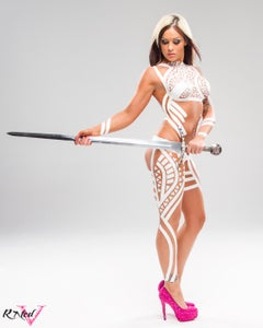 """Image of Velvet Sky """"Sword of Protection"""" 8x10 signed photo"""