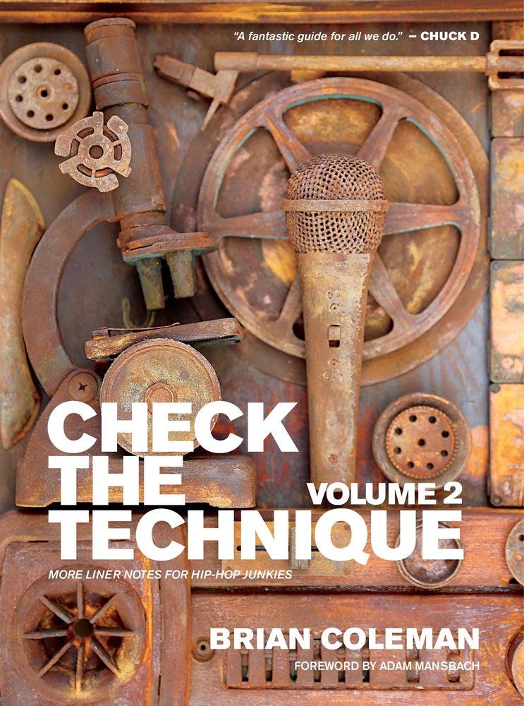 "Image of 3 BOOK ""JS"" BUNDLE - ""Rakim Told Me,"" ""Check the Technique Vol. 1"" and ""Check the Technique Vol. 2"""