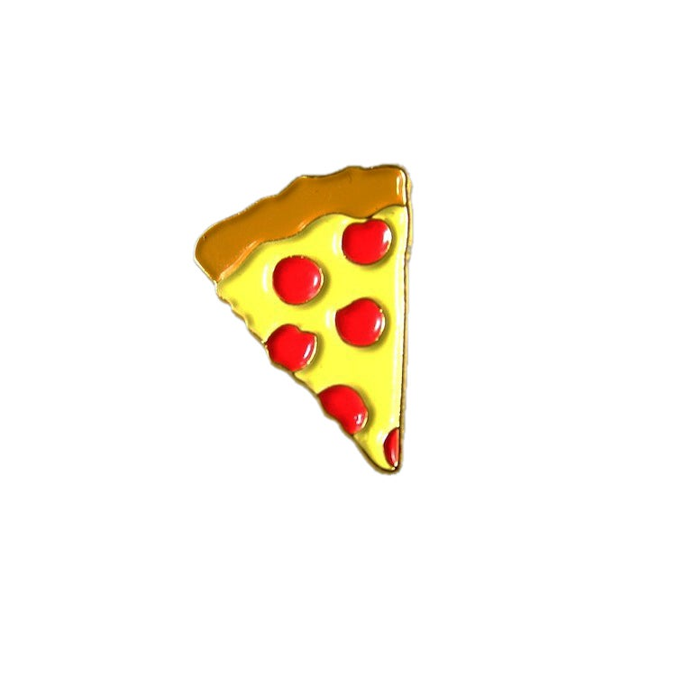 Image of Pizza Emoji Lapel Pin