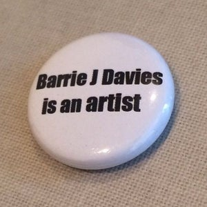 Image of Barrie J Davies Is an artist Badge