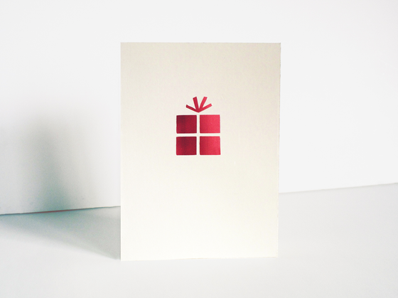 Image of 4 x Present Card
