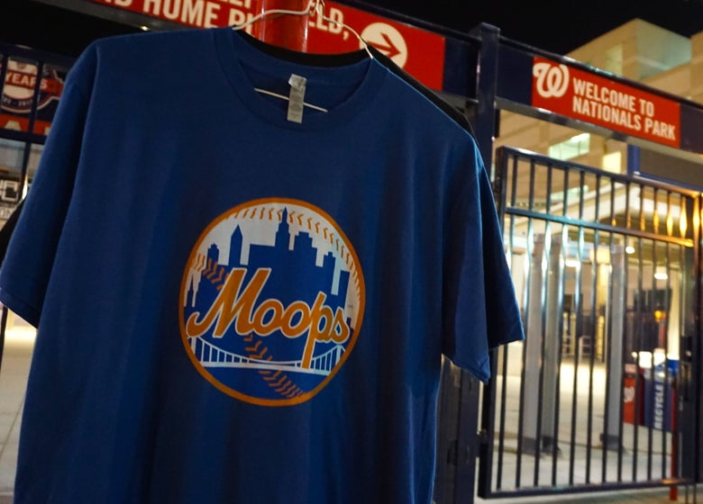 Image of Mango City Moops T (cool blue)