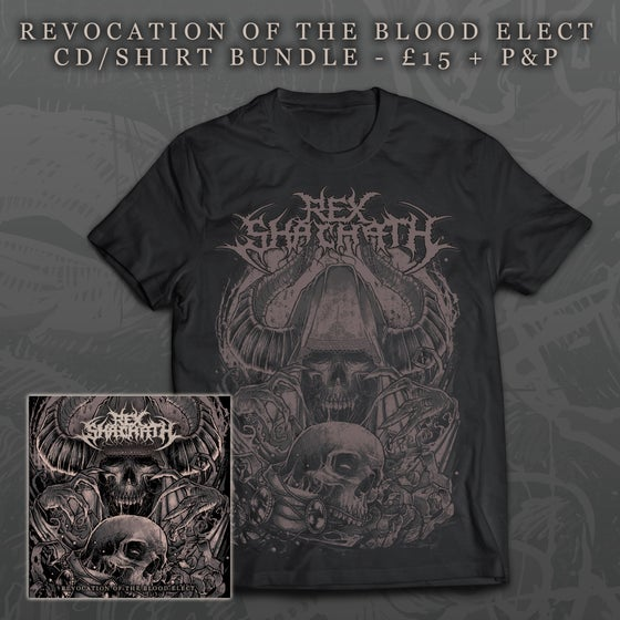 Image of Revocation Of The Blood Elect CD/Shirt Bundle