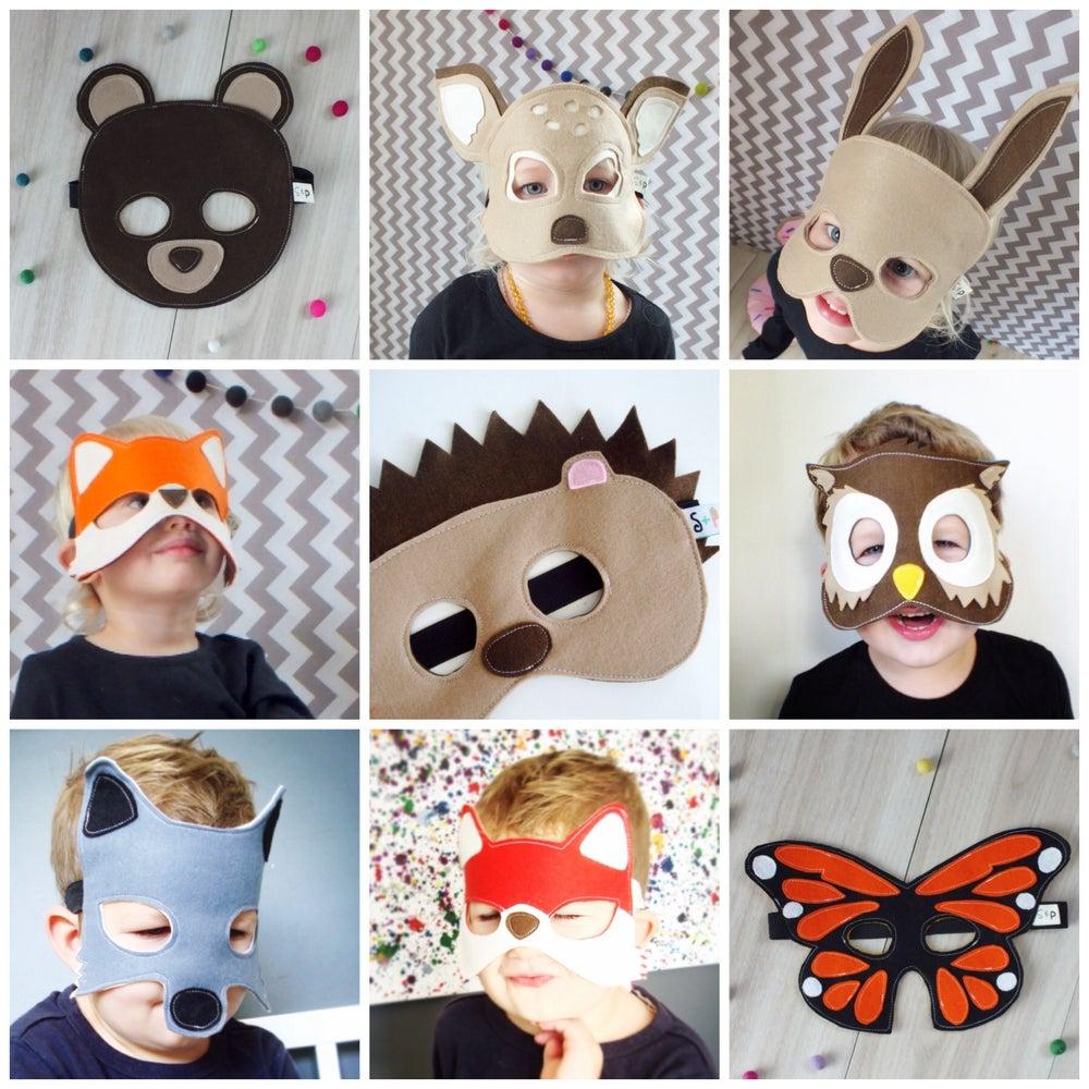 Image of FELT MASK PARTY PACK - choose any 3 masks