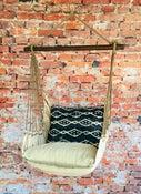 Image of Hammock Swing Chair - Navy Tribal