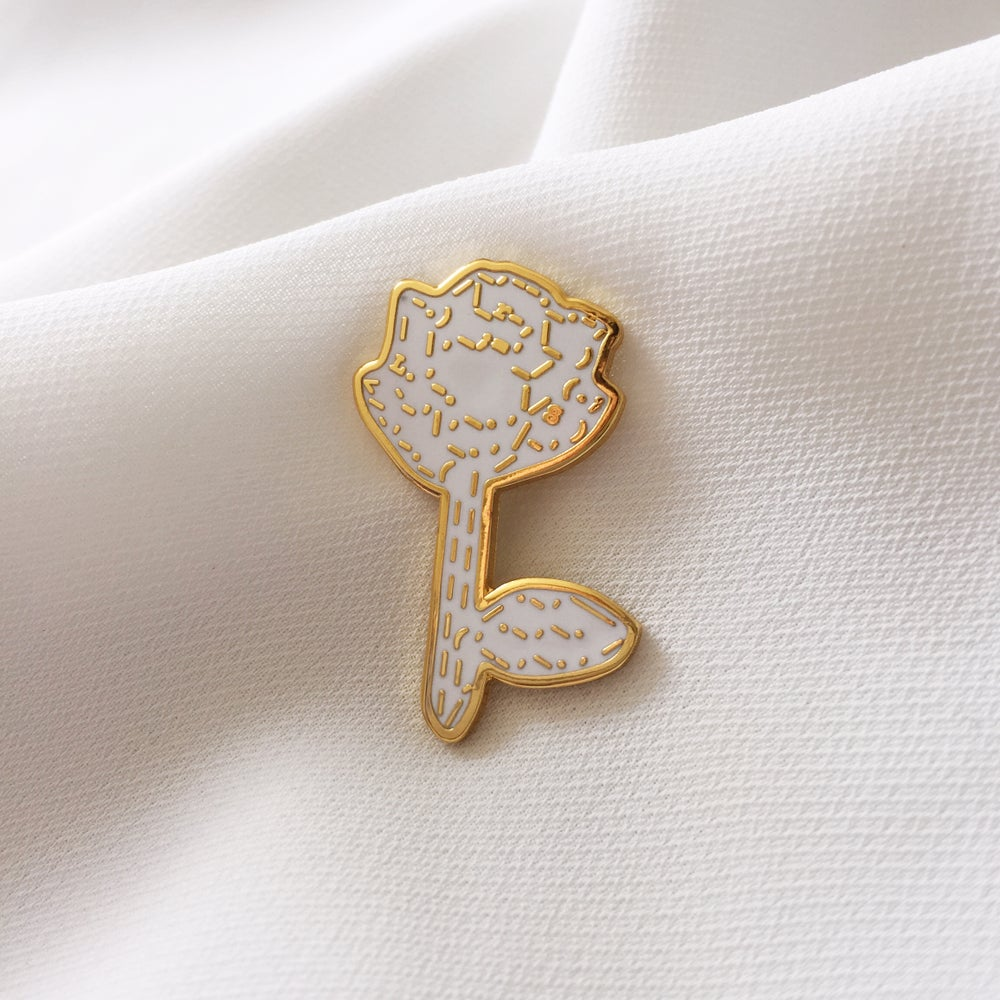 Image of ASCII ROSE PIN
