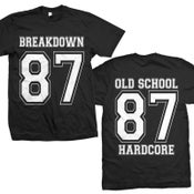 "Image of BREAKDOWN ""87 Old School Hardcore"" T-Shirt"