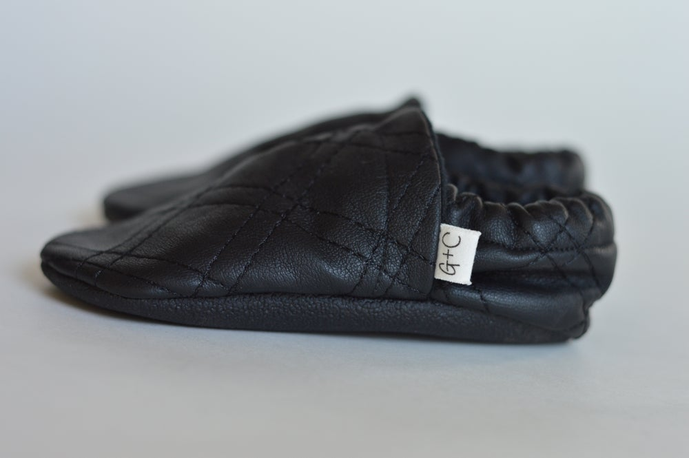 Image of Quilted black