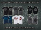 Image of Defiled Crypt Logo T-shirts & Tank Top